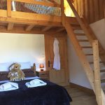 morzine chalet bedroom