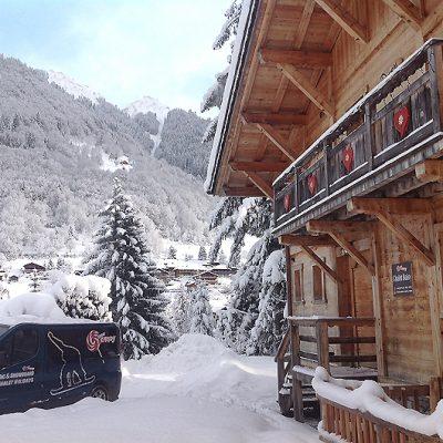 luxury ski chalets morzine