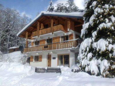 morzine chalet snow