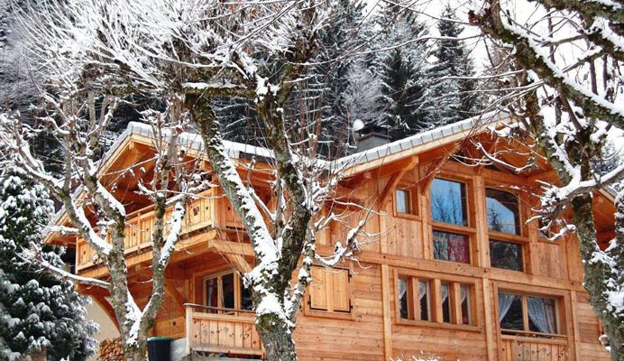 self catered chalet morzine