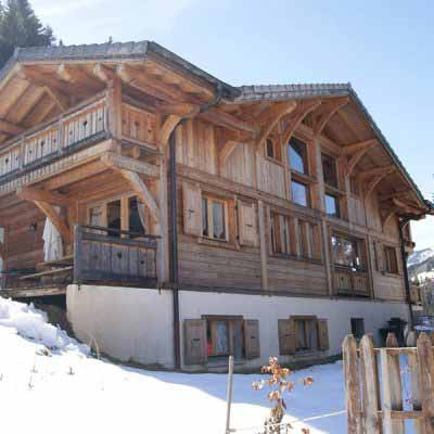 chalet rosalie morzine snow and sun