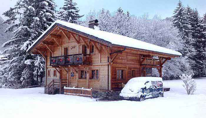 Luxury Ski Chalets Morzine snow and blue sky